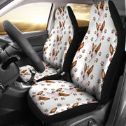 Ibizan Hound Dog Patterns Print Car Seat Covers-Free Shipping - Deruj.com