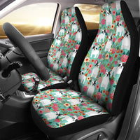 French Bulldog Floral Print Car Seat Covers-Free Shipping - Deruj.com