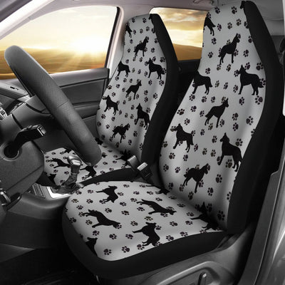 Malinois Dog On Paws Print Car Seat Covers-Free Shipping - Deruj.com
