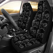 Lhasa Apso Dog Pattern Print Car Seat Covers-Free Shipping - Deruj.com