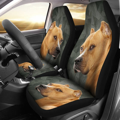 Staffordshire Bull Terrier Print Car Seat Covers-Free Shipping - Deruj.com