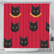 Cute Bombay cat Print Shower Curtain-Free Shipping - Deruj.com