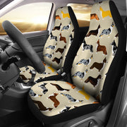 Cardigan Welsh Corgi Pattern Print Car Seat Covers-Free Shipping - Deruj.com