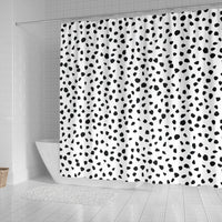 Dalmatian Dog Skin Print Shower Curtains-Free Shipping - Deruj.com