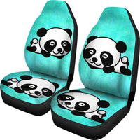 Cute Panda Bear Print Car Seat Covers-Free Shipping - Deruj.com