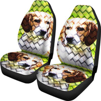 Beagle Dog Awesome Art Print Car Seat Covers-Free Shipping - Deruj.com