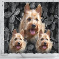 Cute Australian Terrier Print Shower Curtains-Free Shipping - Deruj.com