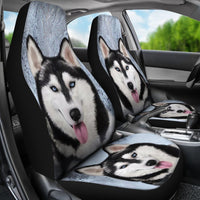 Amazing Siberian Husky Dog Print Car Seat Covers-Free Shipping - Deruj.com