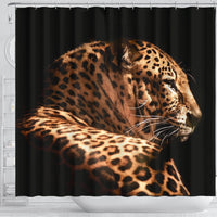 Amazing Leopard Print Shower Curtains-Free Shipping - Deruj.com