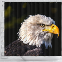 White Tailed Eagle Bird Print Shower Curtains-Free Shipping - Deruj.com