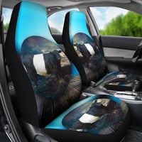 Amazing Belted Galloway Cattle (Cow) Print Car Seat Covers-Free Shipping - Deruj.com