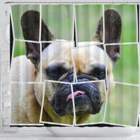French Bulldog Spread Print Shower Curtains-Free Shipping - Deruj.com