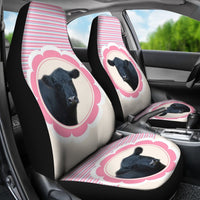Belted Galloway Cattle (Cow) Print Car Seat Covers-Free Shipping - Deruj.com