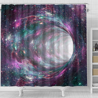 Space Warmhole Print Shower Curtains-Free Shipping - Deruj.com