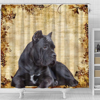 Cute Cane Corso Print Shower Curtains-Free Shipping - Deruj.com