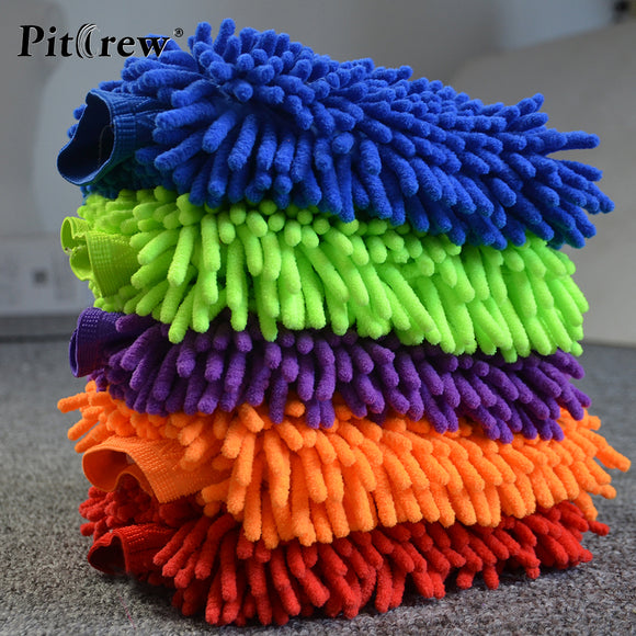 5 Pack Multicolor Car Washing Hand Mitts