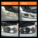 Car Headlamp Polishing Anti-scratch DIY For Car Head Lamp Lense Increase Visibility Headlight Restorstion Kit Restores Clarity