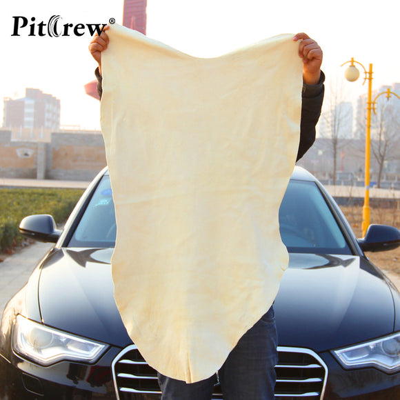 Drying Cleaning Towel Natural Genuine Leather Chamois Shammy Sponge cloth Sheepskin Absorbent Towel Car Washing