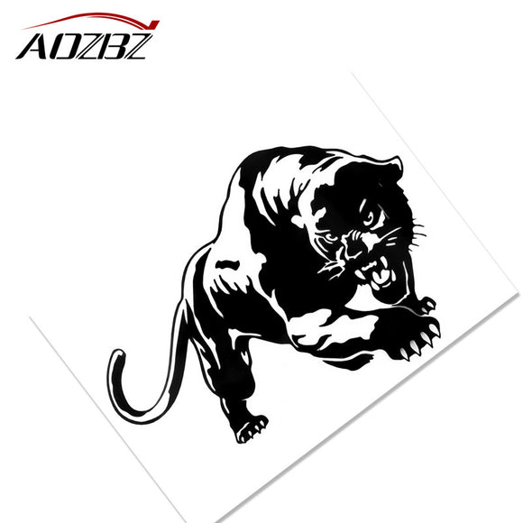 Cool Tiger Car Sticker Decals Window Wall Sticker Motorcycle Decorations Car Styling Accessories 7.7*5.4