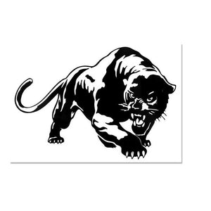 Cool Tiger Car Sticker Decals Window Wall Sticker Motorcycle Decorations Car Styling Accessories 7.7*5.4""