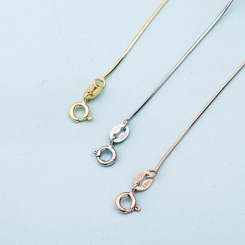 Sterling Silver (S925) Snake Chain