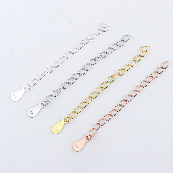 Sterling Silver (S925) Chain Extension 5cm