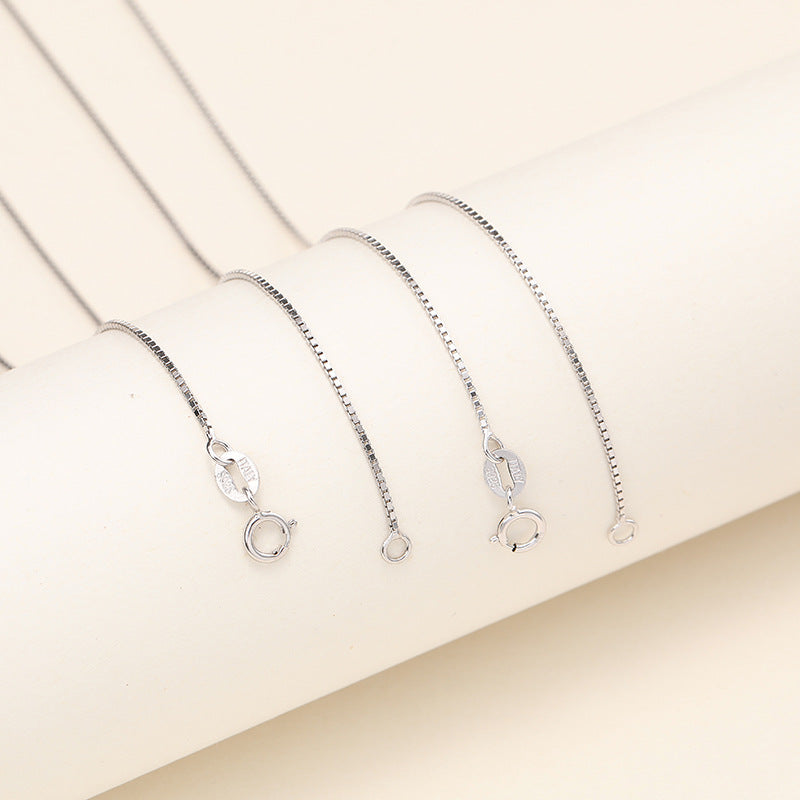 Sterling Silver (S925) Box Chain
