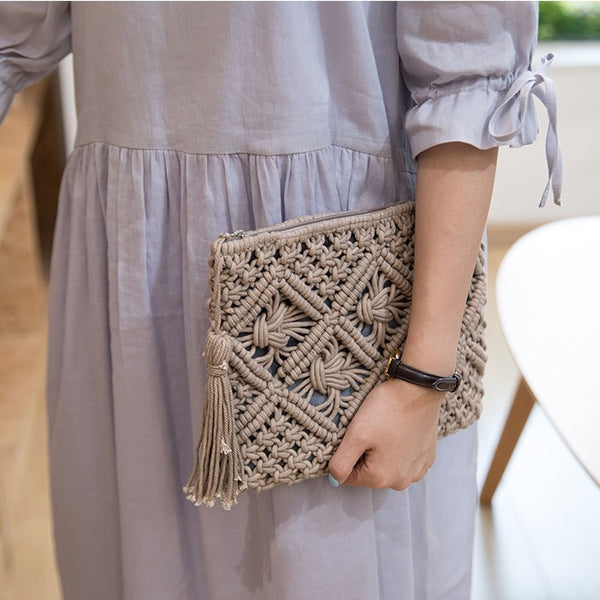 INS Hand-woven - Nadia Clutch Bag