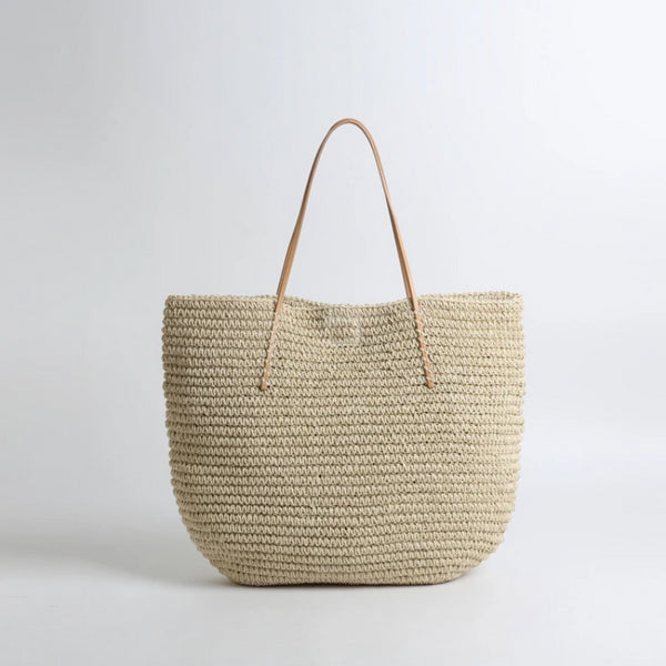 INS Hand-woven - Hannah Straw Tote Bag