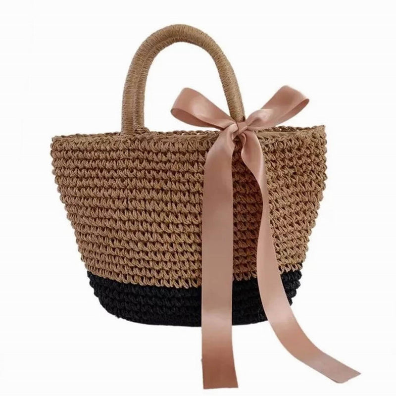 INS Hand-woven - Everly Beach Tote Bag