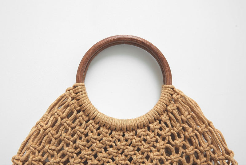 INS Hand-woven - Hazel Everyday Tote Bag