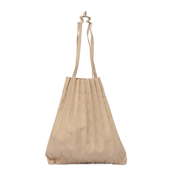 INS Pleated Tote Bag