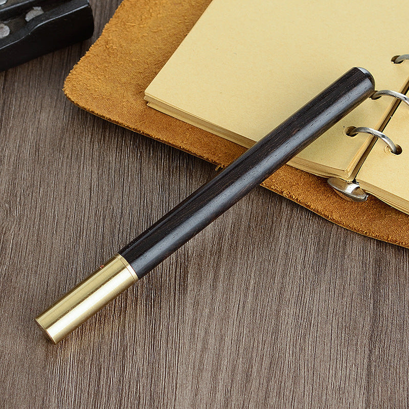 Born To Love Wood™ - Handcrafted Wood+Brass Pen