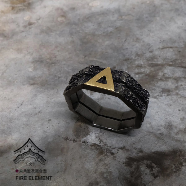 Life Elements - Fire 火 Element Basic Ring