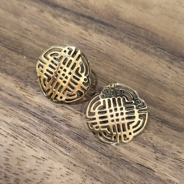 Hansel & Smith - Celtic Round Knot Earrings