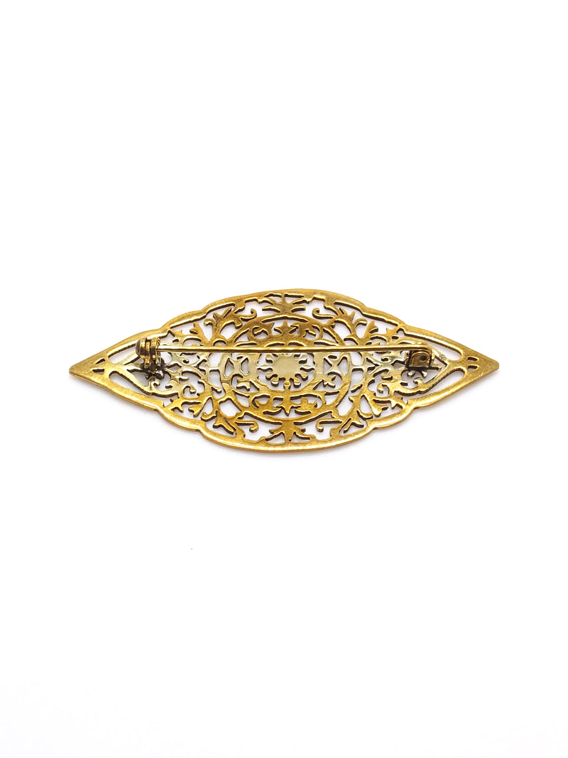 Hansel & Smith - MUSEUM LABEL Buckle Brooch