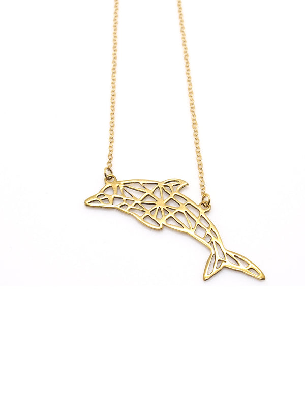 Hansel & Smith - Dolphin Necklace