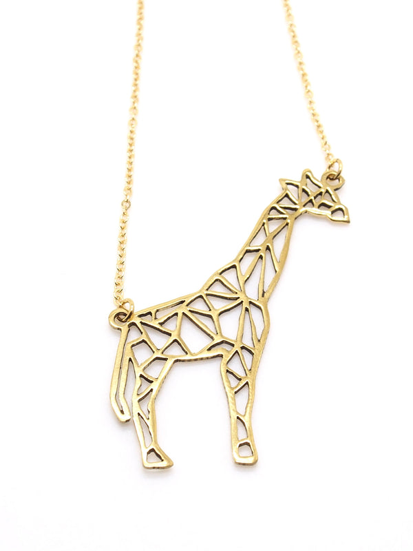 Hansel & Smith - Giraffe Necklace