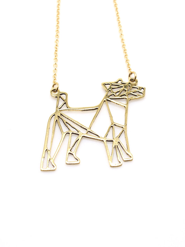 Hansel & Smith - Jack Russell Terrier Necklace