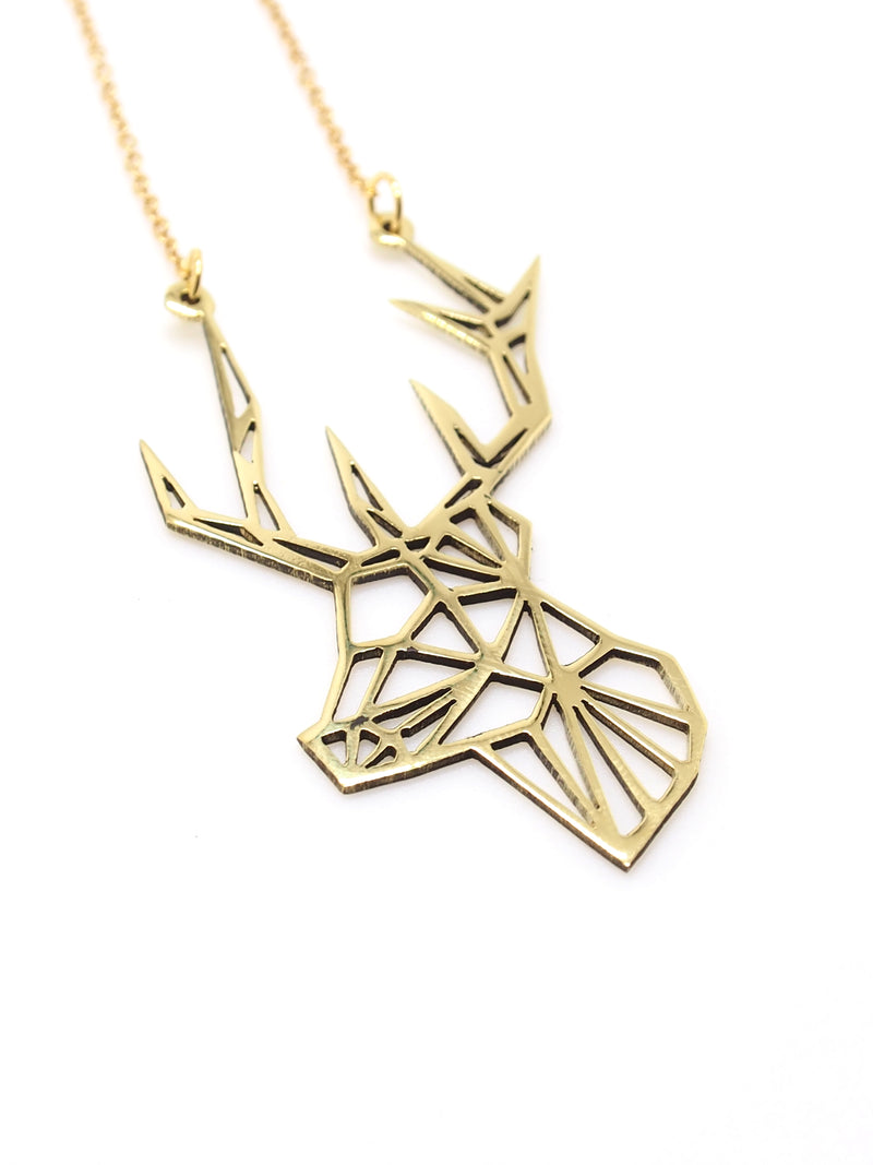 Hansel & Smith - Reindeer Necklace