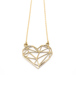 Hansel & Smith - Love Heart Necklace