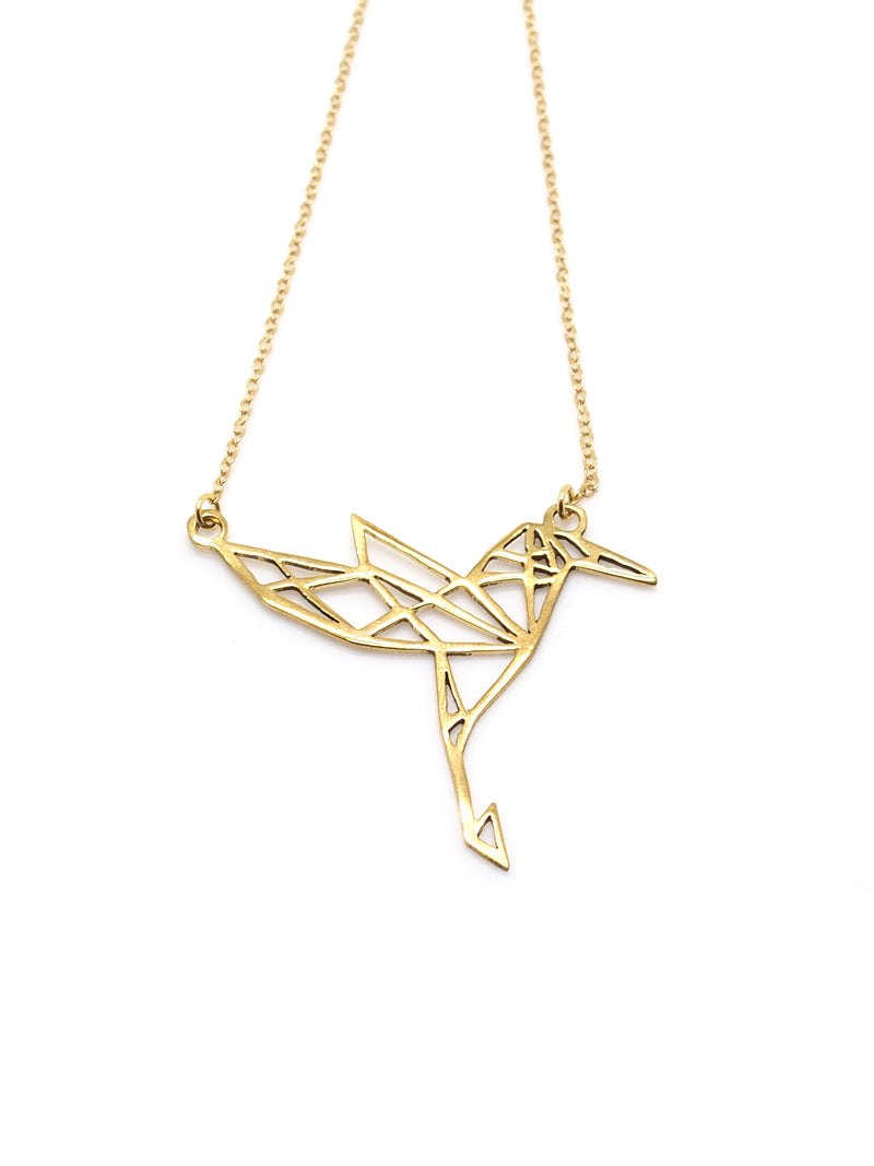 Hansel & Smith - Humming Bird Necklace