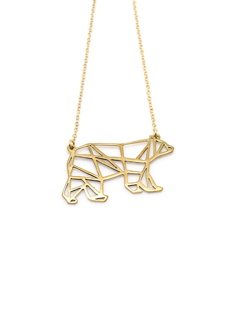 Hansel & Smith - Bear Necklace