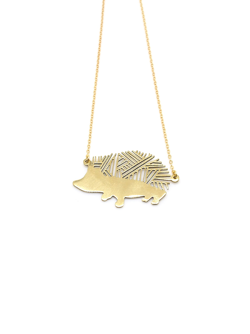 Hansel & Smith - Hedgehog Necklace