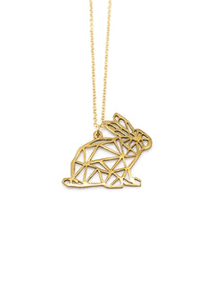 Hansel & Smith - Rabbit Necklace