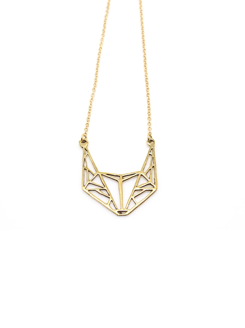 Hansel & Smith - Fox Head Necklace
