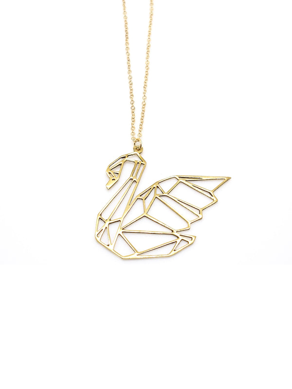 Hansel & Smith - Swan Necklace