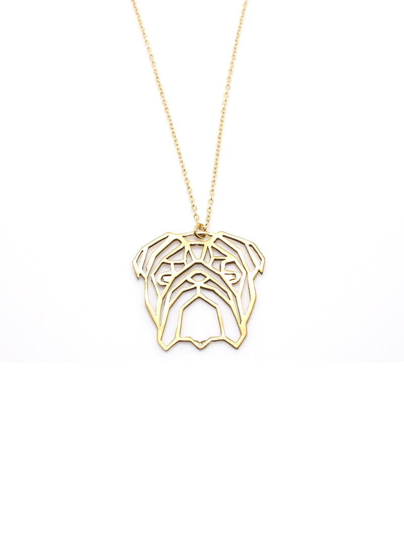 Hansel & Smith - English Bulldog Necklace
