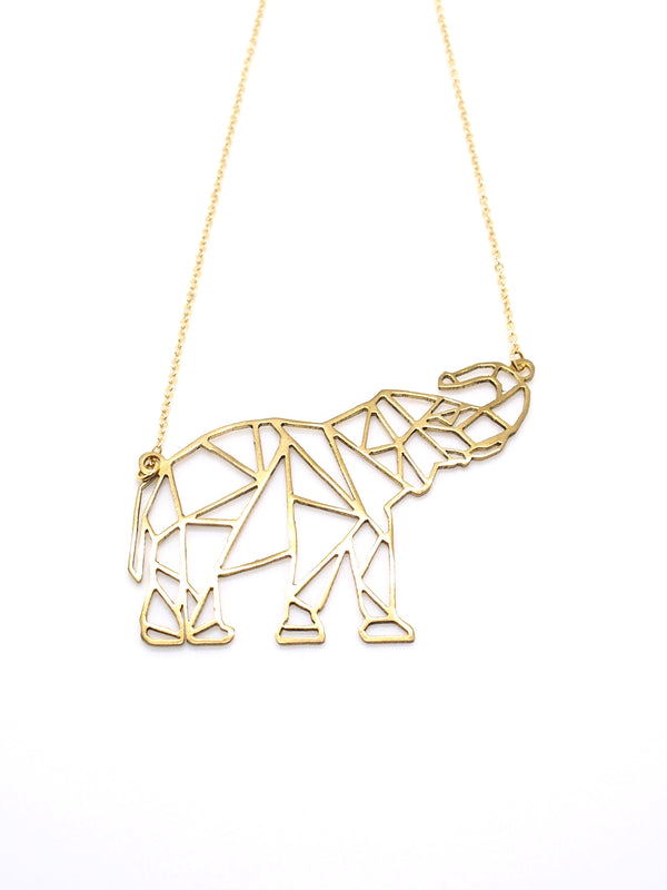 Hansel & Smith - Elephant Necklace