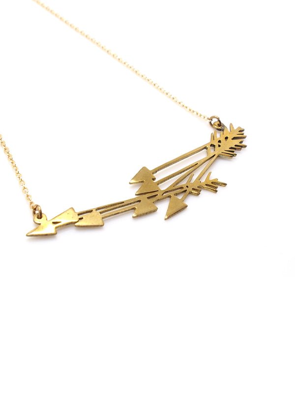 Hansel & Smith - Arrows Necklace